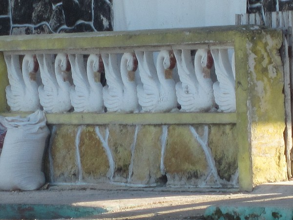 Typical fence decoration