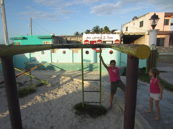 ...or this rusted out monkey bars