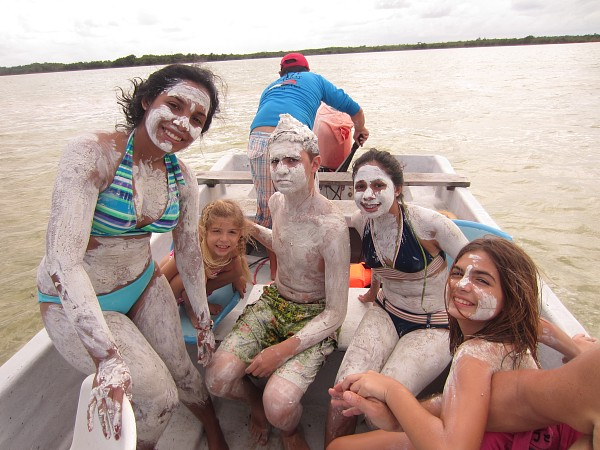 Muddy kiddos