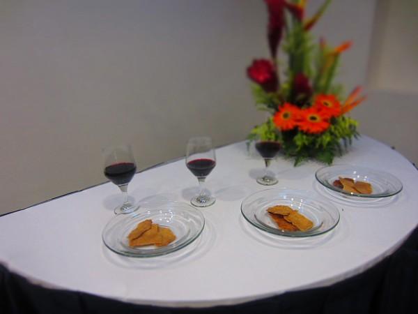 Flowers Wine Bread